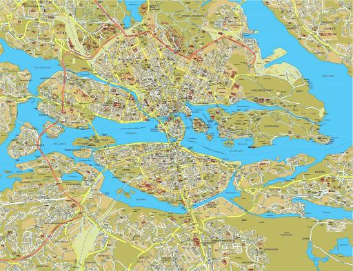 Otros Viajes Suecia Estocolmo Mapas