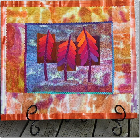 Walks In The Woods Art Quilts Ideas For Framing Your