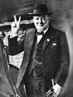 This Day in Quot...V For Victory Sign