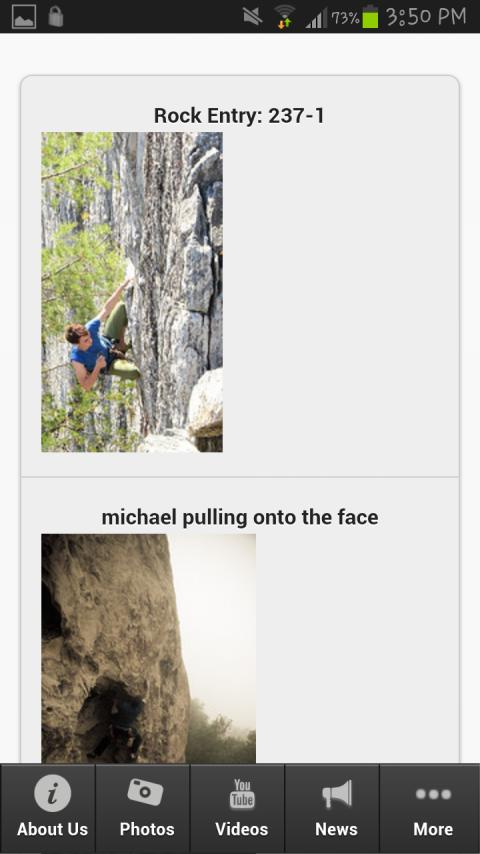 Rock Climbing Tips - screenshot