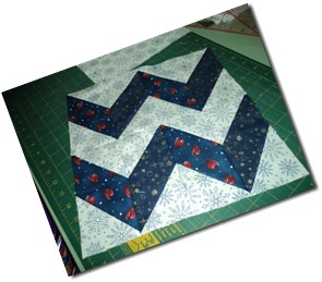 Chevron Block for Leona May 2011