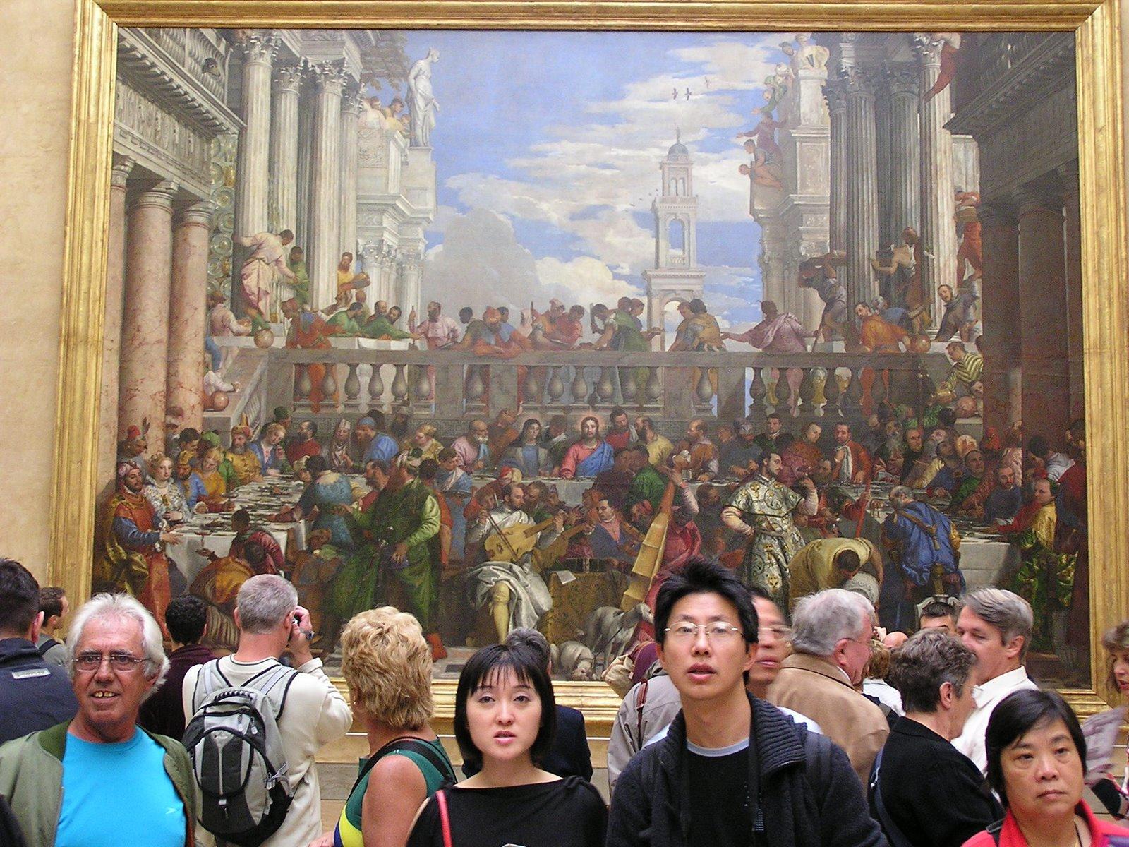 Las Bodas de Caná, Veronese, Elisa N, Blog de Viajes, Lifestyle, Travel, Arte, Louvre, París, Francia