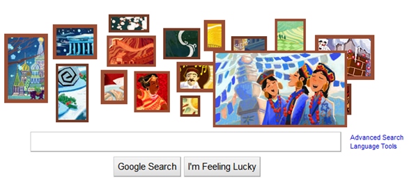 google doodle featured nepal