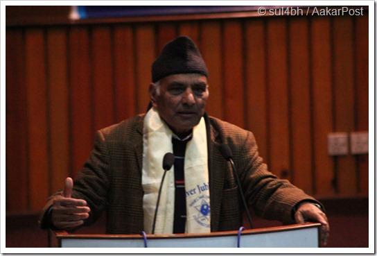 Ex-Registrar Dr. SitaRam Adhikari