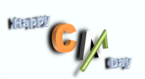 Happy Chartered Accountants Day 01 July #CADay 2014 CA Vikram Verma Author 10 Alone