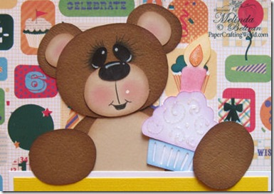 cricut bear closeup 500