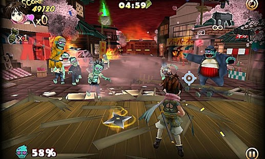 ZombiePanic in Wonderland FREE - screenshot thumbnail