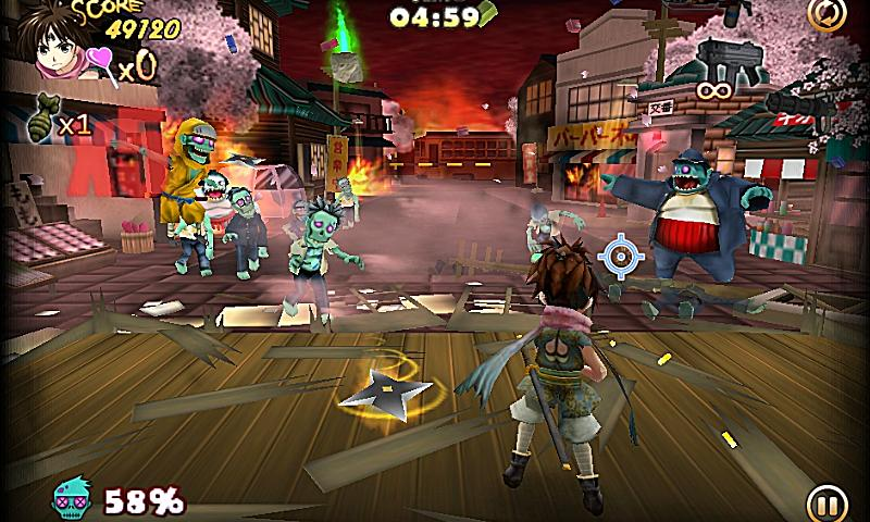 ZombiePanic in Wonderland FREE - screenshot