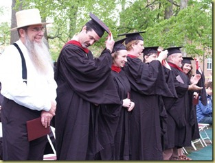 Graduation at ESR in 2009