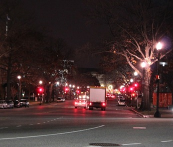 Downtown DC at Night