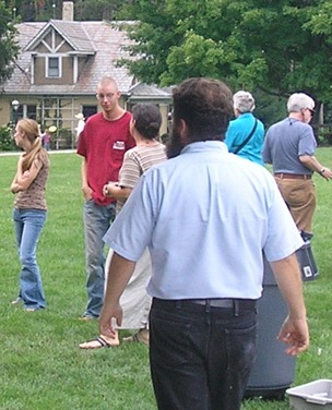 Picnic at Ohio Yearly Meeting 2009