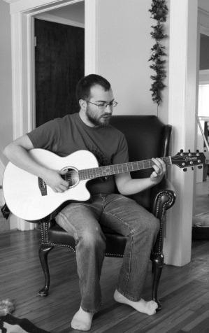 Tyler Playing Guitar