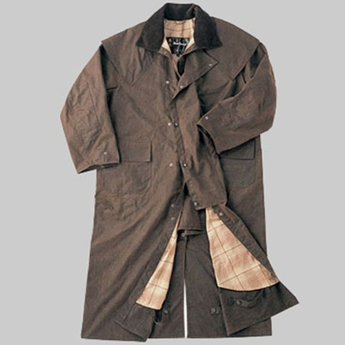 barbour stockman's coat