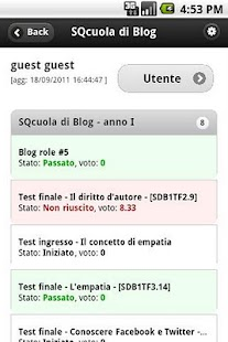 SQcuola di Blog- screenshot thumbnail