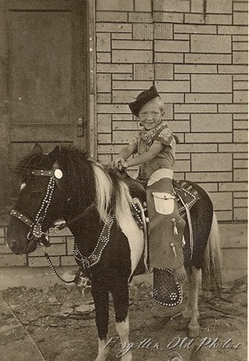 Kid on pony