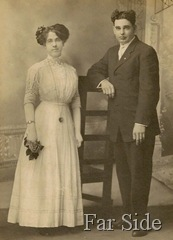 June 29 1911 Frank and Mae  nee Abbott Lemon copy