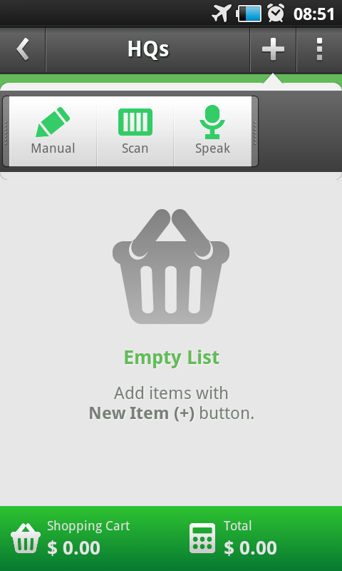 ToShop - Shopping List - screenshot