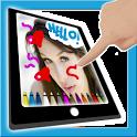 Dibujar sobre una foto icon
