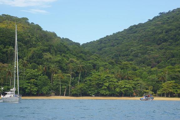 Enseada das Palmas, plage de Pouso (Ilha Grande, RJ), 17 février 2011. Photo : J.-M. Gayman