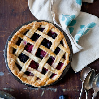 Mixed Berry & Lemon Verbena Pie