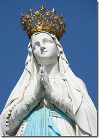 Crowned Virgin Mary