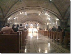 Immaculate Conception Crypt Washington DC