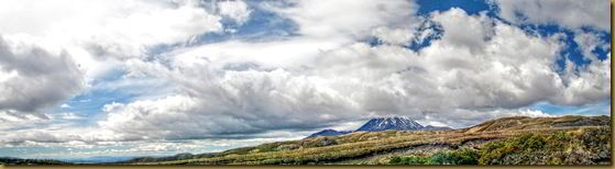 Ngauruhoe panorama HDR