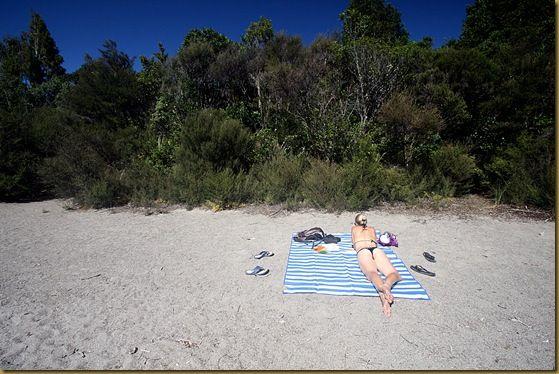 Vera at Lake Rotopounamu