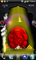 Screenshot of Ganpati/Ganesh Temple 3D LWP