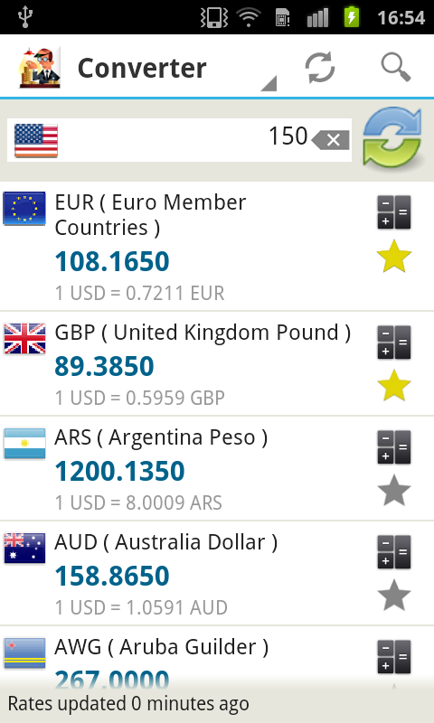 Money Converter - screenshot