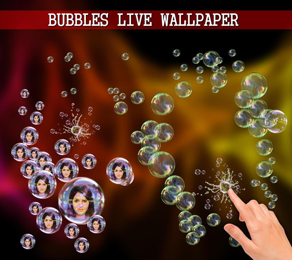 Wallpaper download live - Photo Bubbles Live Wallpaper Screenshot