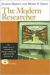 Book. Jacques Barzun. The Modern Researcher.