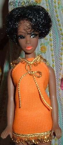 Dawn Dale Topper black African-American doll 1970s