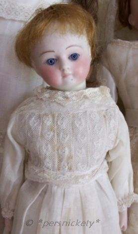 Antique bisque doll German Germany swivel head shoulderplate