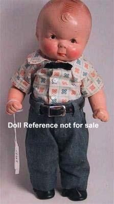 Puggy American Character doll 1920s