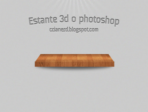 Estante 3d - Final