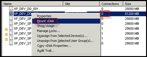 How to Resize a Citrix Provisioning Services' VHD vDisk