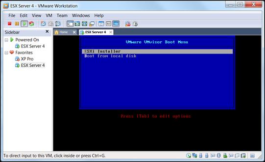 Building the ESXi Boot Drive  | vCloudInfo