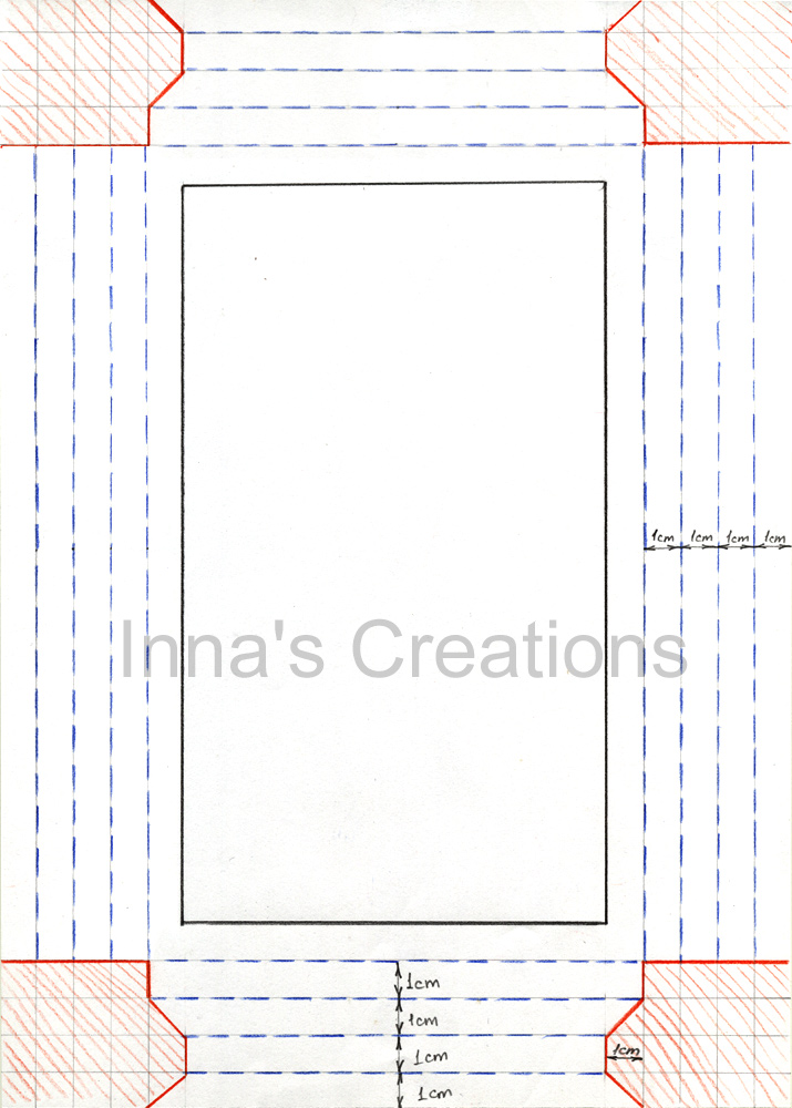 Inna\'s Creations: How to make a simple paper frame