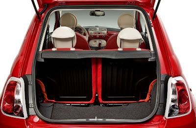 Inside The Fiat 500 Split Folding Rear Seats Fiat 500 Usa