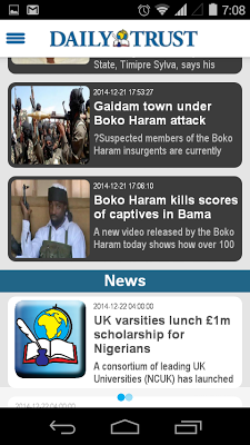 Daily Trust - screenshot