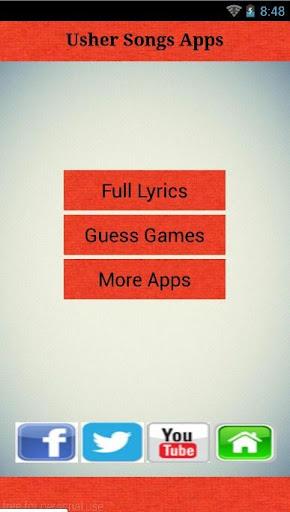 Usher Lyrics