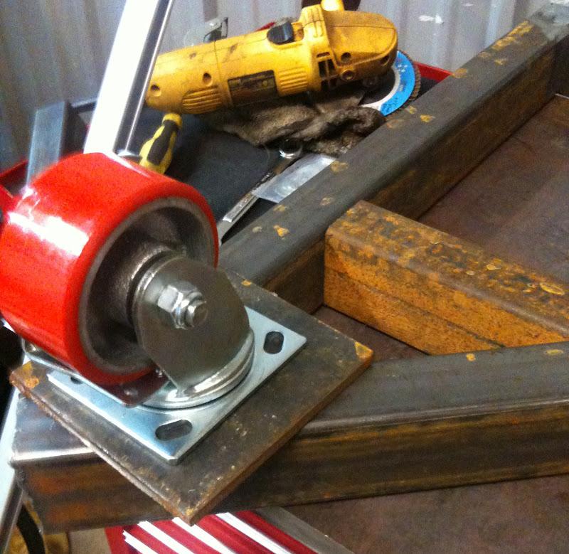 Fabrication Fixturing Welding Table Build
