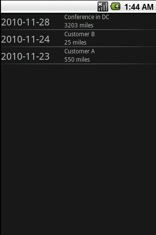 MilesTrac FREE- screenshot