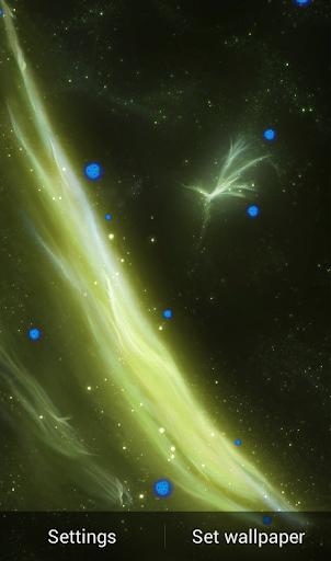 Z Galaxy Live Wallpaper