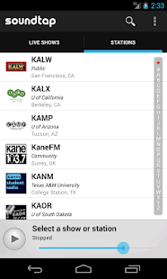 Soundtap College Radio- screenshot thumbnail