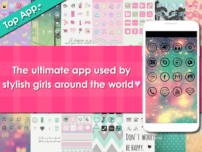 icon wallpaper dressup-CocoPPa - screenshot thumbnail