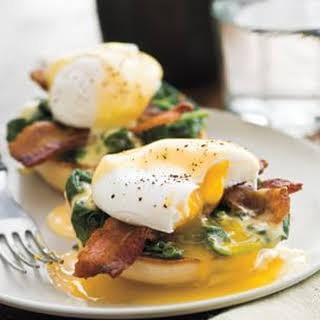 Lemony Eggs Florentine.