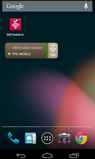 BEETmobile Wifi Hotspot App - screenshot thumbnail