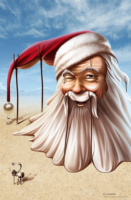 Santa Clause Vector Illustration